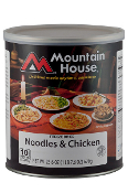 Mt. House Noodles & Chicken #10 Can - Case of Six
