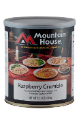 Mt. House Raspberry Crumble #10 Can - Case of Six