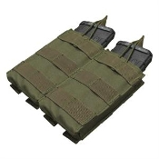 Double M4/M16 open top mag pouch