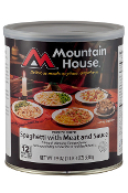 Mountain House Spaghetti with Meat Sauce #10 Can  - Case of Six