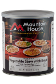 Mountain House Vegetable Stew w/ Beef #10 Can  - Case of Six