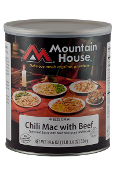 Mt. House Chili Mac w/Beef #10 Can  - Case of Six