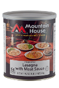 Mt. House Lasagna with Meat Sauce #10 Can - Case of Six