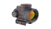 Trijicon MRO rifle optic with hi mount